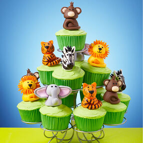 Jungle Fun Cupcakes Scene