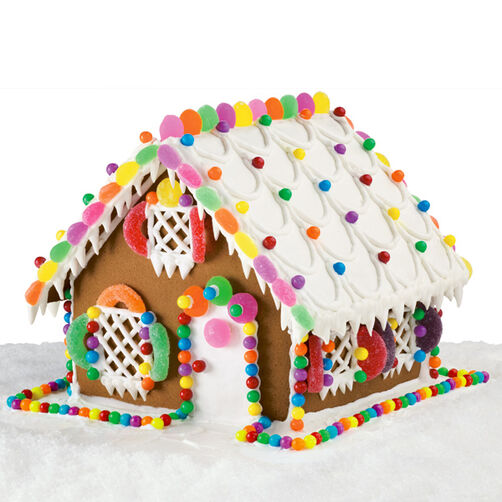 Holiday Haven Gingerbread House