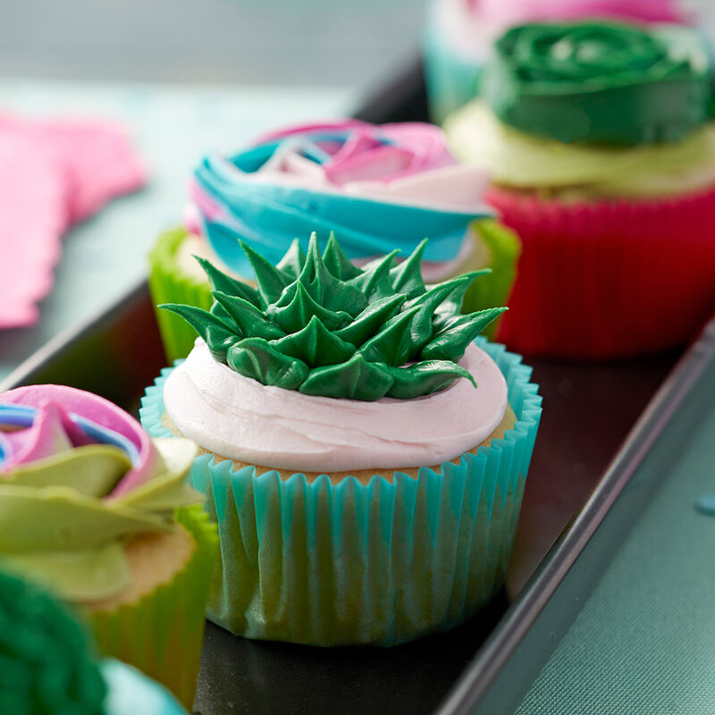 Sweet Succulent Cupcakes image number 2
