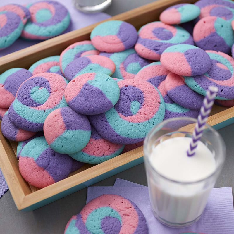 Wilton Three Color Swirl Cookies image number 0