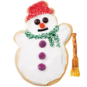 Build a Snowman! Cookie