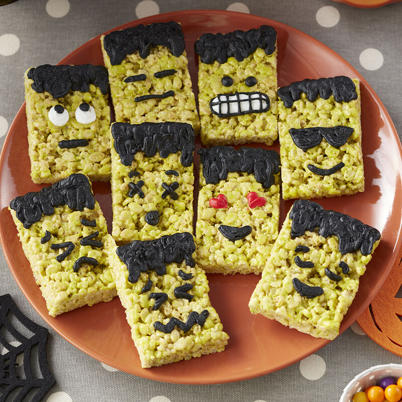 Frankenstein Cereal Treats image number 0