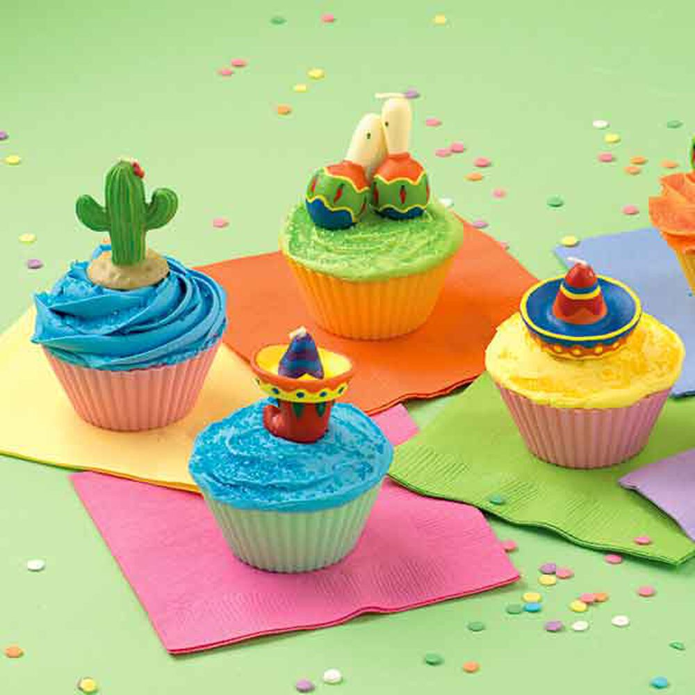 Cake Decorating Cupcake Toppers