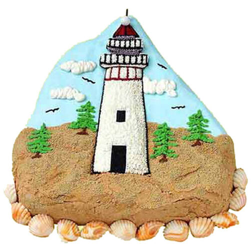 Welcome Beacon Cake