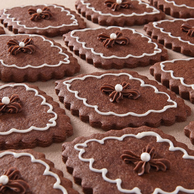 Spiced Chocolate Roll Out Cookies