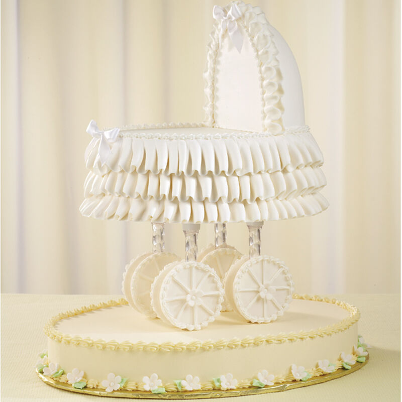Out for a Stroll Baby Shower Cake image number 0