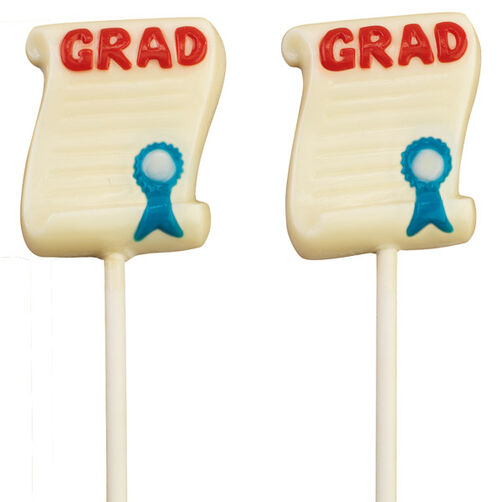 Diploma Pops Candy
