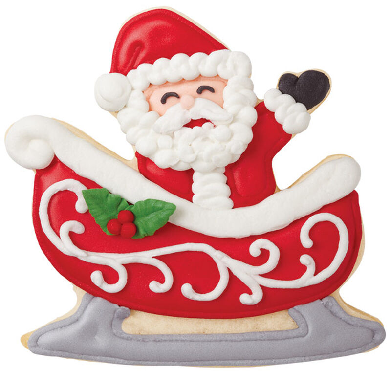 In the Sleigh Santa Cookies image number 0