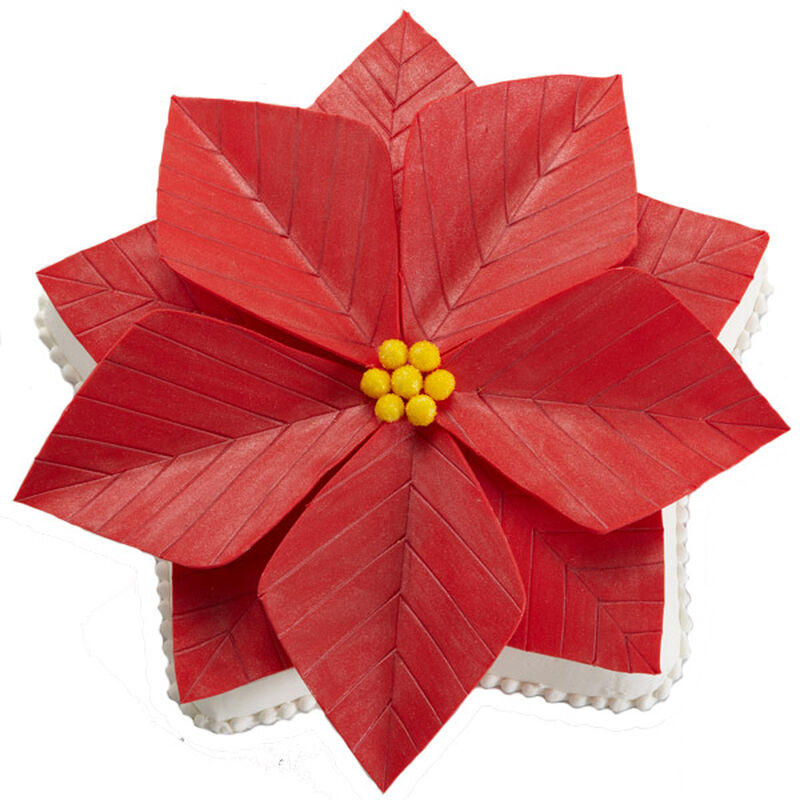 A Perfect Poinsettia Cake image number 0