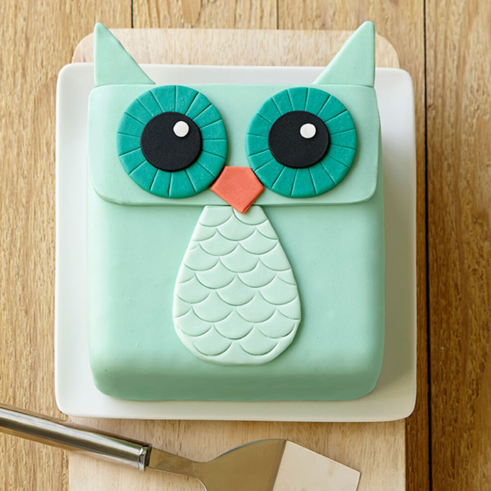 Owl Cake Cake Ideas Recipes Wilton