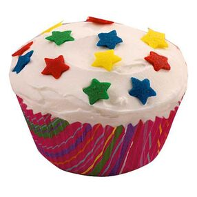 Star Studded Celebration Cupcake