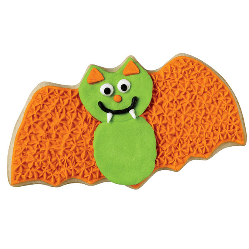 Green Goblin Bat Cookie image number 0