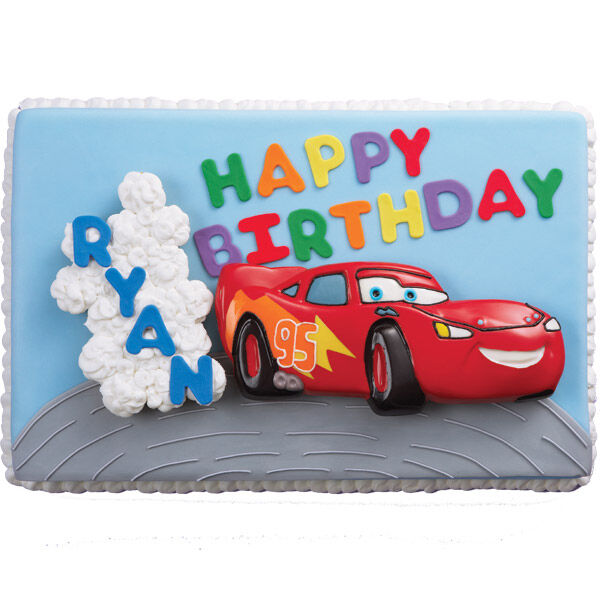 Cars Birthday Cake Wilton
