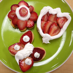 Special Strawberry Shortcake Shapes