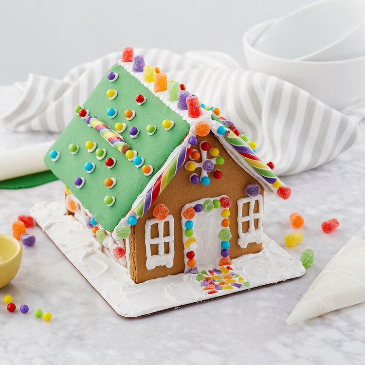 Spiced- Up Gingerbread House #2