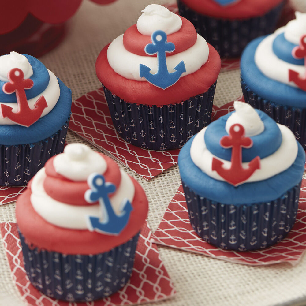 By The Seaside Summer Cupcakes Wilton