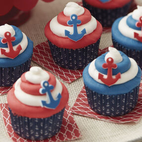 Wilton By the Seaside Summer Cupcakes
