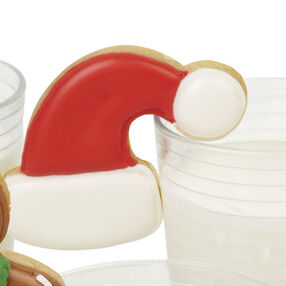 Jolly Santa Hat Milk-N-Cookie