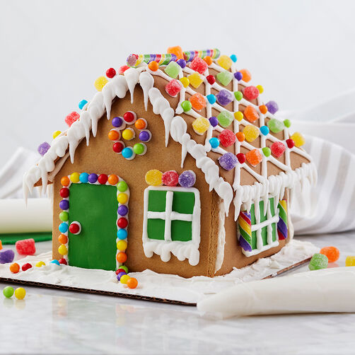 Spiced-Up Gingerbread House #1