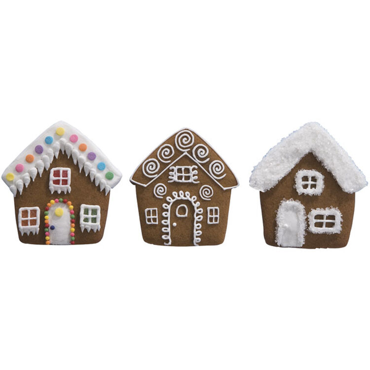 Custom Cottages Gingerbread Cookies