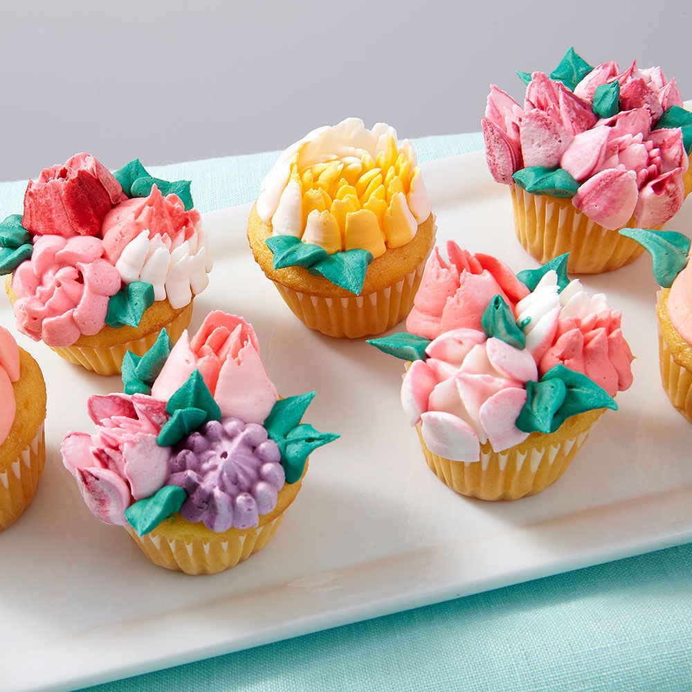 Easy Bloom Mini Cupcakes : cupcakes decoration ideas - www.pureclipart.com