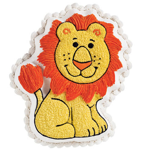 Friendly Lion Cake
