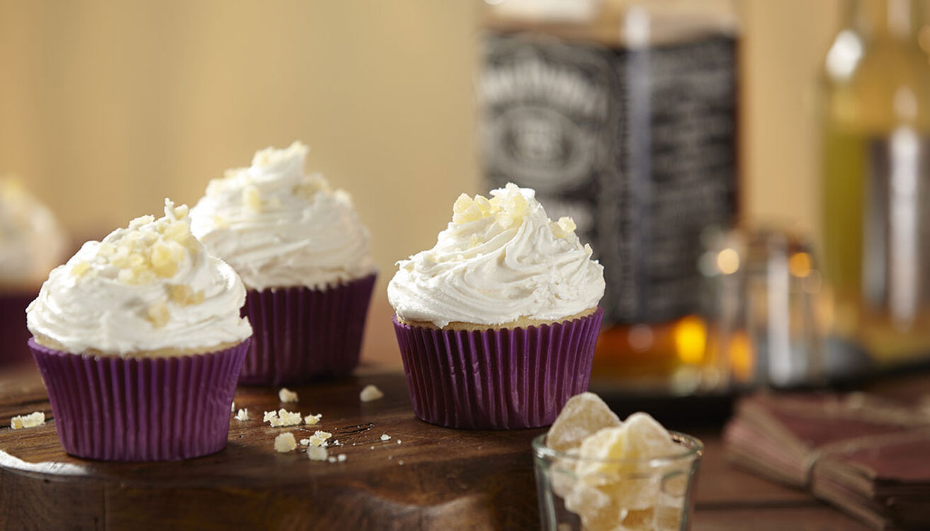 Jack and Ginger Cupcakes