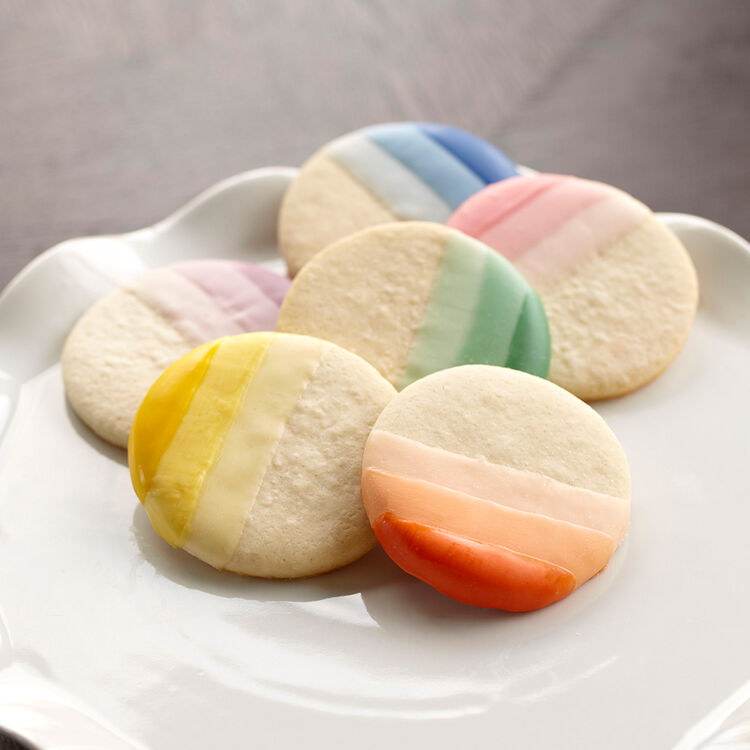 Ombre Candy Melts Cookies