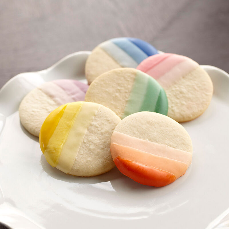 Ombre Candy Melts Cookies image number 2