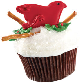Her Holly Home Cupcake