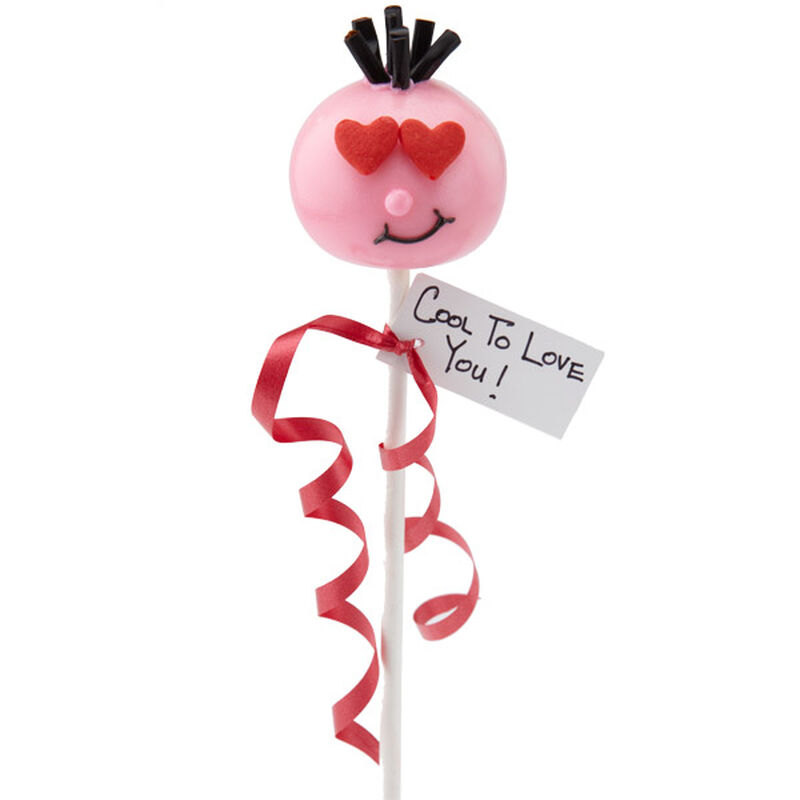Here's Looking at You Dude Cake Pops image number 0