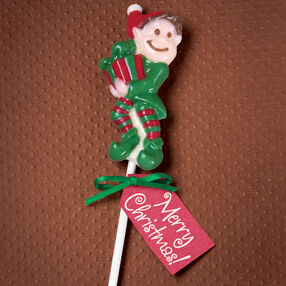 Elf-Made Gift Candy Lollipop
