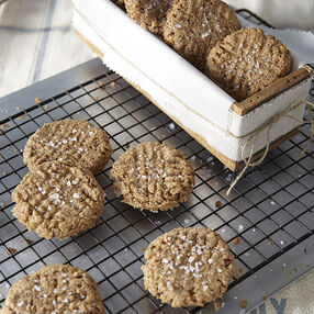 Almond Sea Salt Gluten-Free Cookies