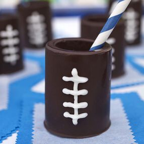 Wilton Football Edible Shot Glasses