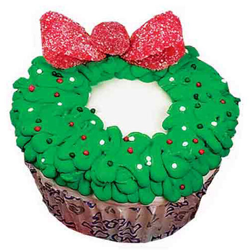Wreath Reward Cupcakes