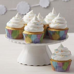 Wilton Light & Fluffy Rainbow Cupcakes
