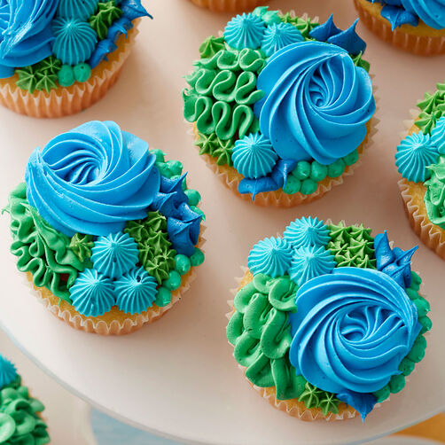 Happy Earth Day Cupcakes Wilton