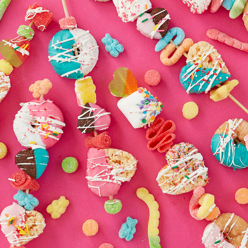 Sweet Treat Valentine?s Day Kabobs image number 0