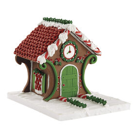 Fancy Gingerbread Cookie House #2