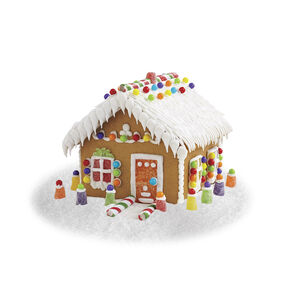 Small and Stylish Gingerbread House #3