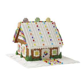 Creative Candy Gingerbread Cottage #1
