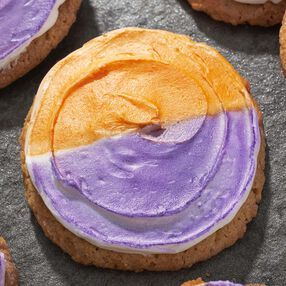 Colorful Halloween Sugar Cookies