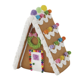 Winter Wonderland Gingerbread Village A-Frame House