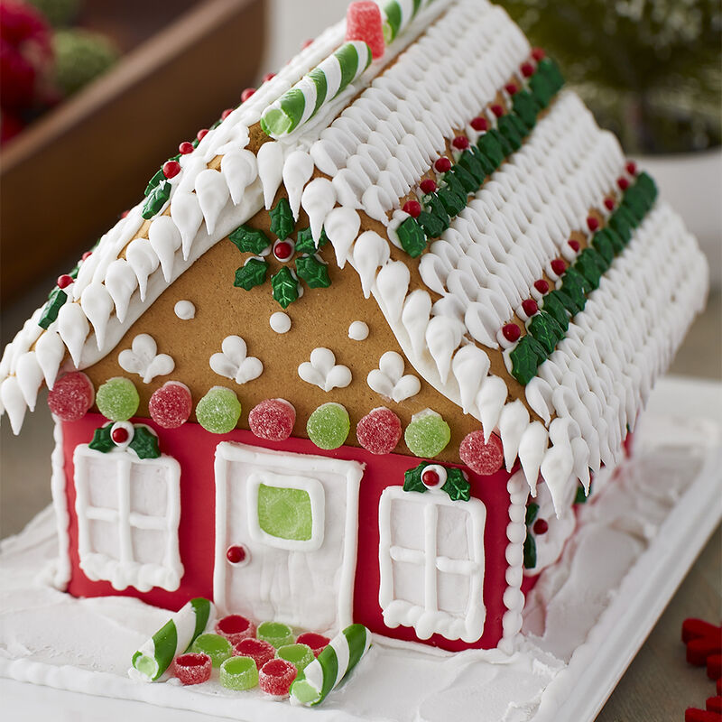 Traditional with Trends Gingerbread House  image number 1