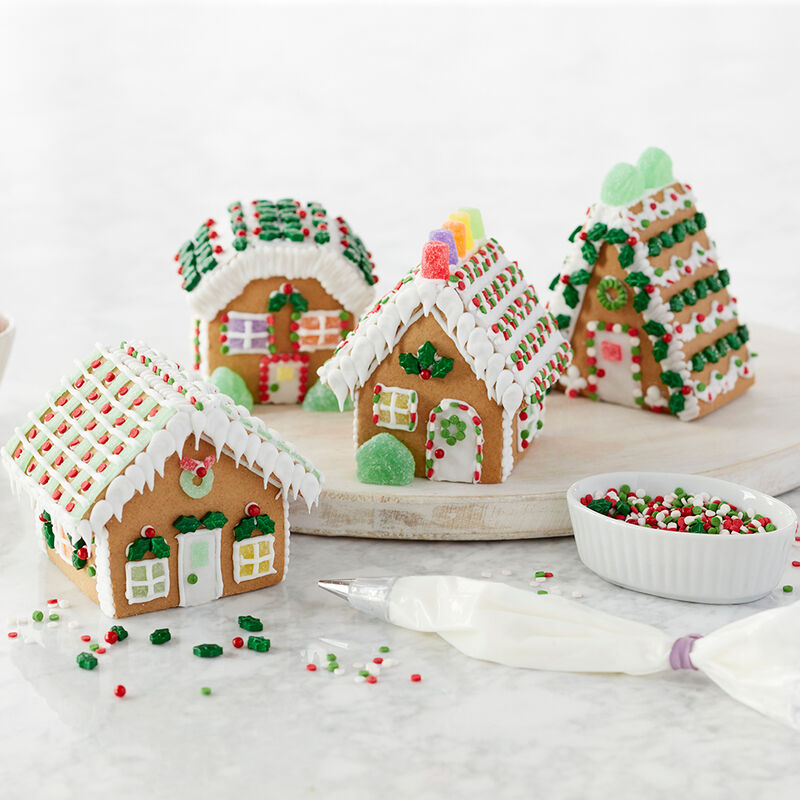 Holiday Fun Mini Gingerbread Village Large Classic Cottage image number 1