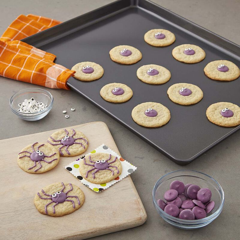 Halloween Spider Sugar Cookies image number 1