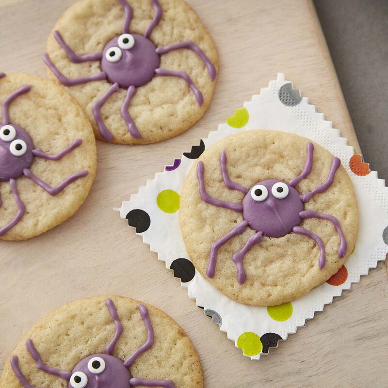 Halloween Spider Cookies - Halloween Sugar Cookies image number 0