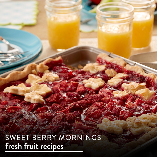 Sweet Berry Mornings. Find Fresh Fruit Recipes.