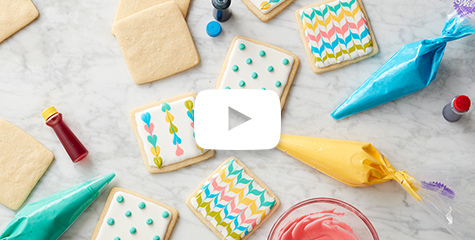 how to make Royal Icing cookie decorating- cookie art
