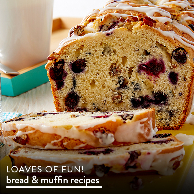 Loaves of Fun! View Bread & Muffin Recipes.